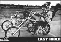 Easy Rider - 11 x 17 Movie Poster - Style C - Museum Wrapped Canvas