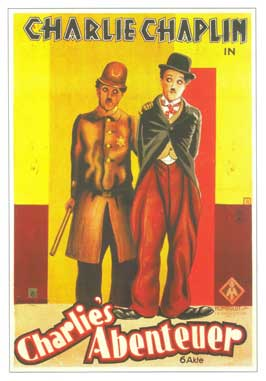 Easy Street - 11 x 17 Movie Poster - French Style A
