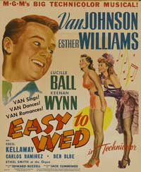 Easy to Wed - 11 x 17 Movie Poster - Style B