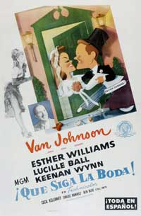 Easy to Wed - 11 x 17 Movie Poster - Spanish Style A