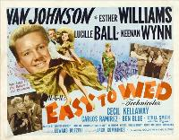 Easy to Wed - 30 x 40 Movie Poster UK - Style A