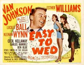 Easy to Wed - 11 x 14 Movie Poster - Style A