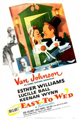 Easy to Wed - 27 x 40 Movie Poster - Style C