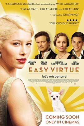 Easy Virtue - 11 x 17 Movie Poster - Style A