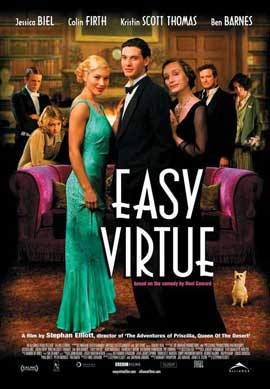 Easy Virtue - 11 x 17 Movie Poster - Style B