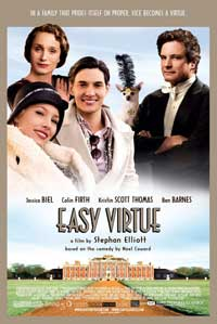 Easy Virtue - 11 x 17 Movie Poster - Style C