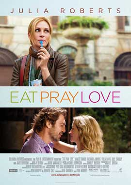 Eat, Pray, Love - 11 x 17 Movie Poster - German Style A