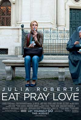 Eat, Pray, Love - DS 1 Sheet Movie Poster - Style A