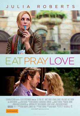 Eat, Pray, Love - 11 x 17 Movie Poster - Australian Style A