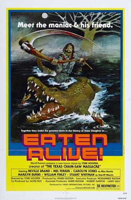 Eaten Alive - 11 x 17 Movie Poster - Style D