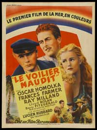 Ebb Tide - 27 x 40 Movie Poster - French Style A