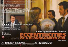 Eccentricities of a Blonde-haired Girl - 11 x 17 Movie Poster - UK Style A