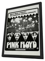 Echoes: Pink Floyd - 11 x 17 Movie Poster - Style A - in Deluxe Wood Frame