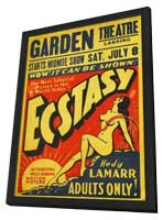 Ecstasy - 11 x 17 Movie Poster - Style B - in Deluxe Wood Frame