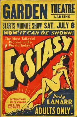 Ecstasy - 11 x 17 Movie Poster - Style B