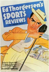 Ed Thorgersen's Sports Reviews - 11 x 17 Movie Poster - Style A