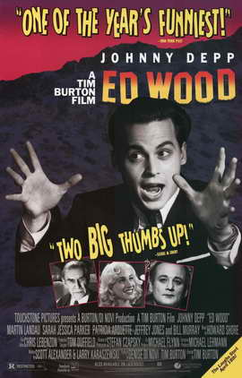 Ed Wood - 11 x 17 Movie Poster - Style B