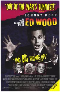 Ed Wood - 43 x 62 Movie Poster - Bus Shelter Style A