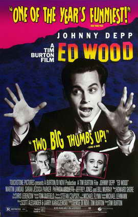 Ed Wood - 11 x 17 Movie Poster - Style D