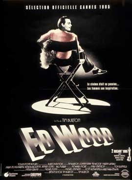 Ed Wood - 11 x 17 Movie Poster - French Style A