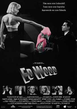 Ed Wood - 11 x 17 Movie Poster - German Style A