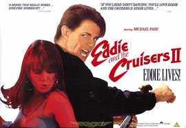 Eddie and the Cruisers 2: Eddie Lives! - 11 x 17 Movie Poster - Style A