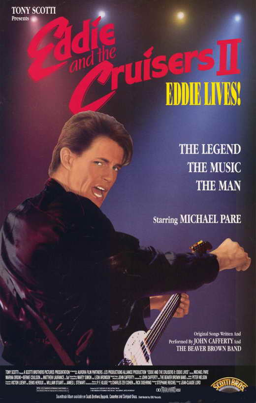 eddie and the cruisers 2 eddie lives movie posters from