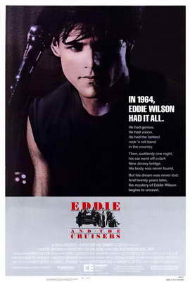Eddie and the Cruisers - 27 x 40 Movie Poster - Style B