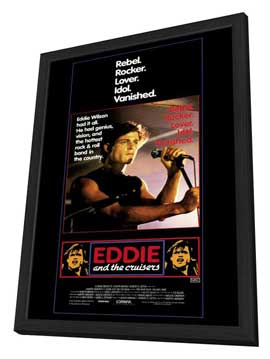 Eddie and the Cruisers - 11 x 17 Movie Poster - Style A - in Deluxe Wood Frame