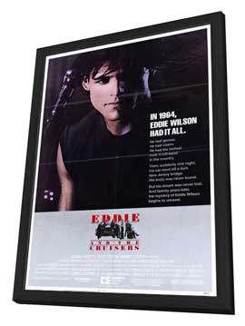Eddie and the Cruisers - 11 x 17 Movie Poster - Style B - in Deluxe Wood Frame