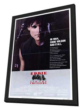 Eddie and the Cruisers - 27 x 40 Movie Poster - Style B - in Deluxe Wood Frame