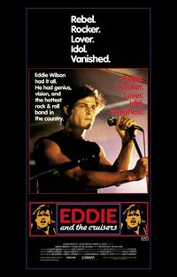 Eddie and the Cruisers - 11 x 17 Movie Poster - Style A - Museum Wrapped Canvas