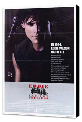 Eddie and the Cruisers - 27 x 40 Movie Poster - Style B - Museum Wrapped Canvas