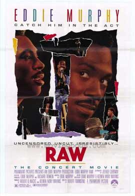 Eddie Murphy Raw - 11 x 17 Movie Poster - Style A