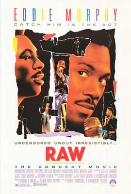Eddie Murphy Raw - 27 x 40 Movie Poster - Style A