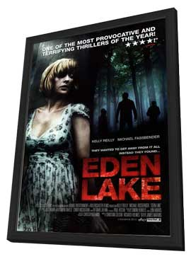 Eden Lake - 11 x 17 Movie Poster - Style B - in Deluxe Wood Frame