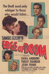 Edge of Doom - 27 x 40 Movie Poster - Style A