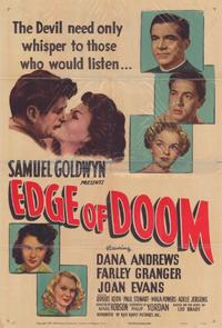 Edge of Doom - 11 x 17 Movie Poster - Style A
