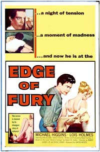 Edge of Fury - 11 x 17 Movie Poster - Style A