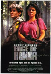 Edge of Honor - 27 x 40 Movie Poster - Style A