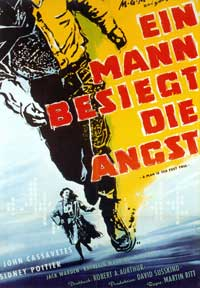 Edge of the City - 11 x 17 Movie Poster - German Style A
