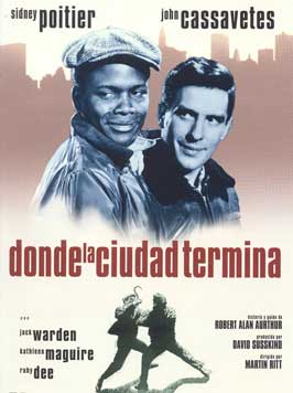 Edge of the City - 11 x 17 Movie Poster - Spanish Style A