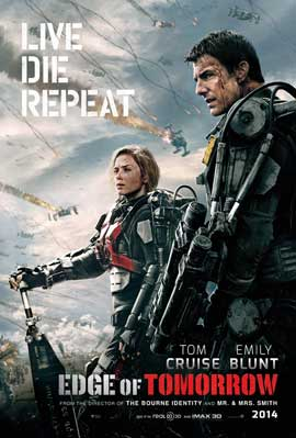 Edge of Tomorrow - 11 x 17 Movie Poster - Style A