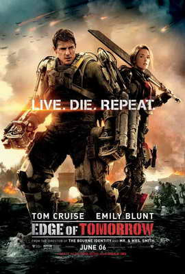 Edge of Tomorrow - 27 x 40 Movie Poster - Style B