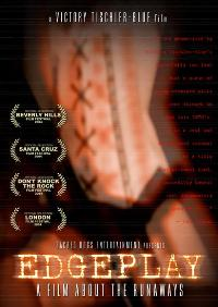 Edgeplay: A Film About The Runaways - 11 x 17 Movie Poster - Style A