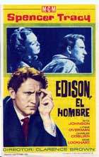 Edison, the Man - 11 x 17 Movie Poster - Spanish Style A