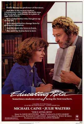 Educating Rita - 27 x 40 Movie Poster - Style A