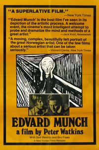 Edvard Munch - 11 x 17 Movie Poster - Style A
