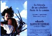 Edward Scissorhands - 27 x 40 Movie Poster - Spanish Style A