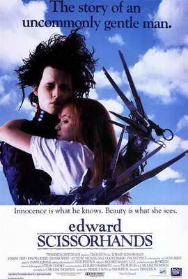 Edward Scissorhands - 27 x 40 Movie Poster - Style B